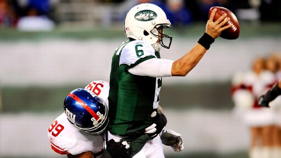 Chris Canty, Mark Sanchez