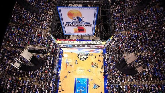 NBA Championship banner