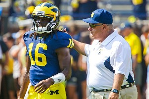 Denard Robinson and Al Borges