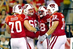 Wisconsin Badgers' offensive line