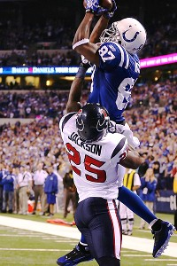 Indianapolis Colts wide receiver Reggie Wayne