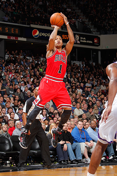 derrick rose shooting form - photo #3