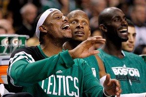 Boston Celtics bench