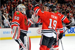Hawks Best Wings In Playoff Atmosphere