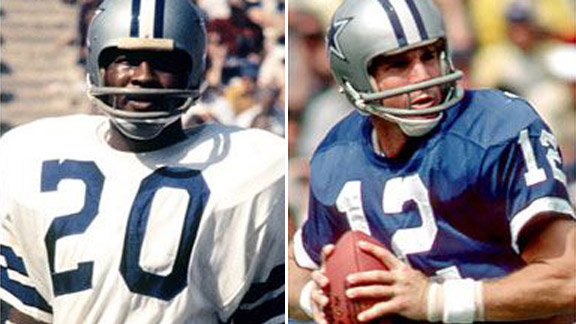 Roger Staubach and Mel Renfro