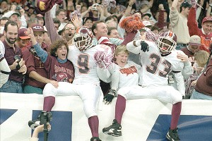 Virginia Tech win the Sugar Bowl 1995