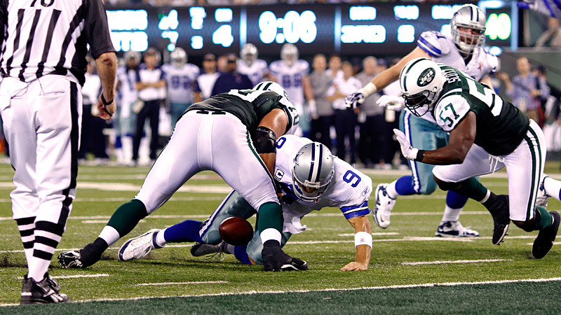 Tony Romo fumble