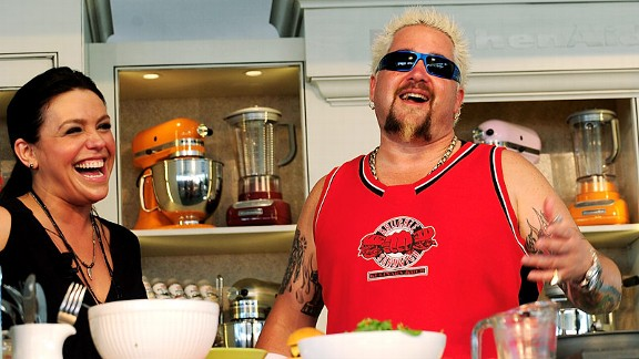 Rachel Ray & Guy Fieri