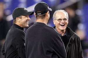 Jim, John and Jack Harbaugh