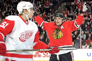 Blackhawks vs Red Wings 