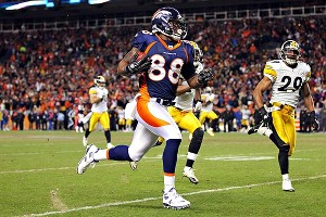 Doug Pensinger/Getty Images Demaryius Thomas' 80-yard catch and run