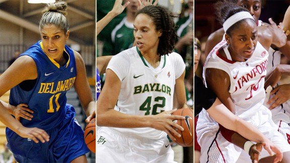 Elena Delle Donne, Brittney Griner, Nnemkadi Ogwumike