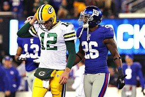 Aaron Rodgers and Antrel Rolle