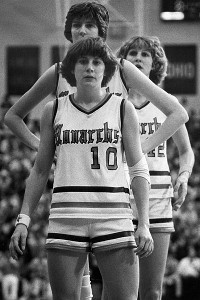 Nancy Lieberman, Anne Donovan and Inge Nissen