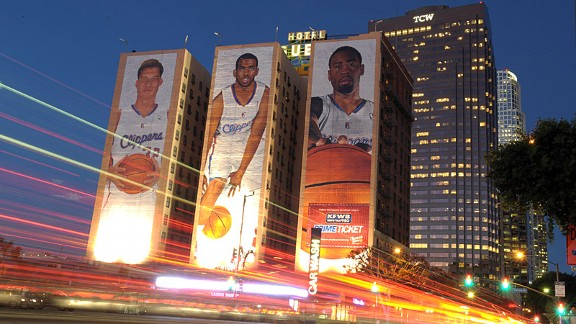 Clippers billboard