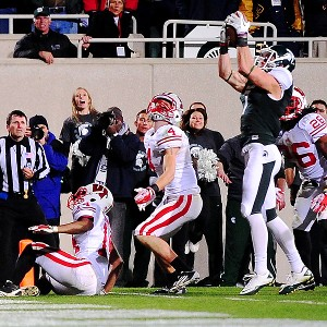 Michigan State Spartans wide receiver Keith Nichol
