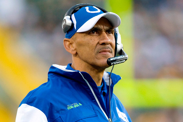 a biography of tony dungy a football player Tony dungy's words and  it is hard to imagine him writing a book about life's principles and practices when they are so tied to his life as a football player and.