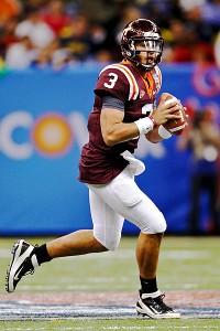 Virginia Tech Hokies quarterback Logan Thomas