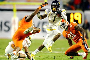 West Virginia Mountaineers wide receiver Tavon Austin