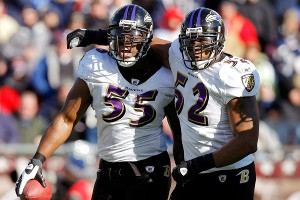 Terrell Suggs, Ray Lewis