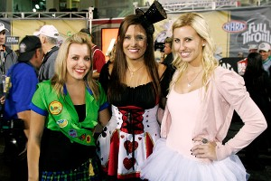 Brittany, Ashley and Courtney Force