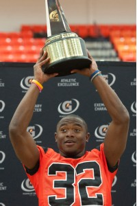 Gatorade POY, Johnathan Gray, Aledo, Texas