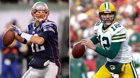 Tom Brady & Aaron Rodgers