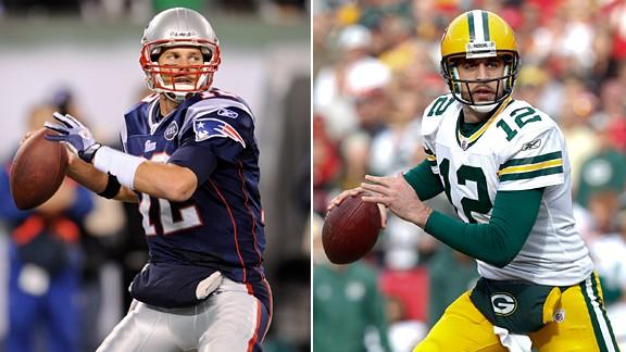 Tom Brady & Aaron Rodgers