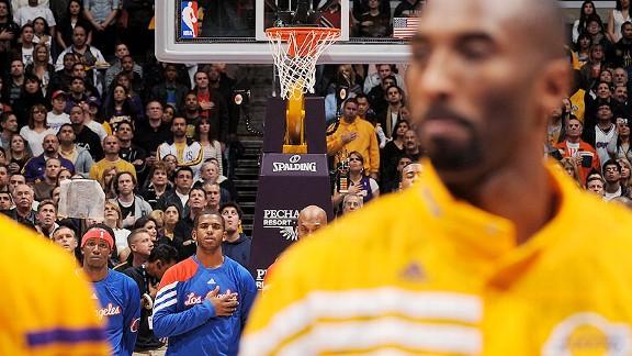 Chris Paul and Kobe Bryant