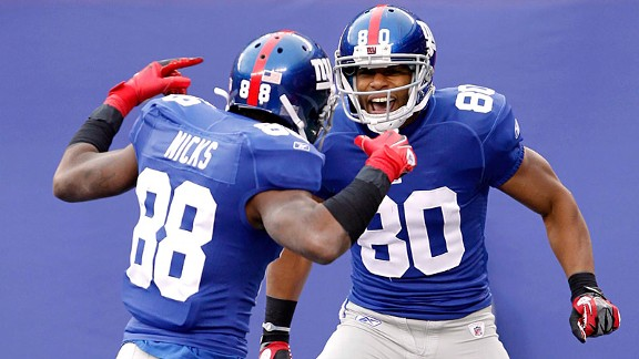 Hakeem Nicks & Victor Cruz
