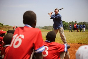 Right to Play, Uganda players and Gregg Zaun
