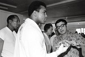 Angelo Dundee & Muhammad Ali