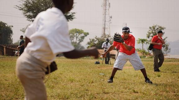 Jimmy Rollins in Uganda