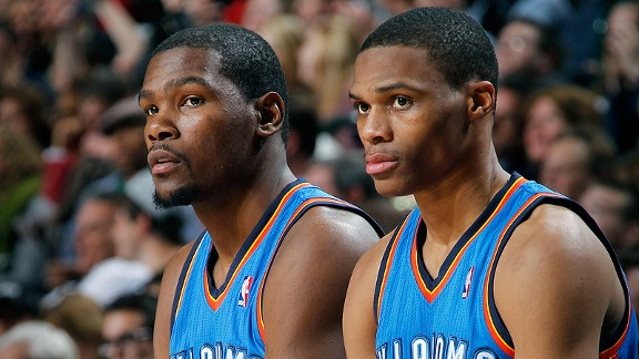 Kevin Durant and Russell Westbrook