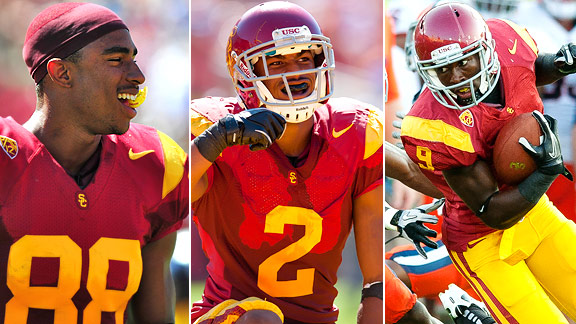 George Farmer, Robert Woods, Marqise Lee