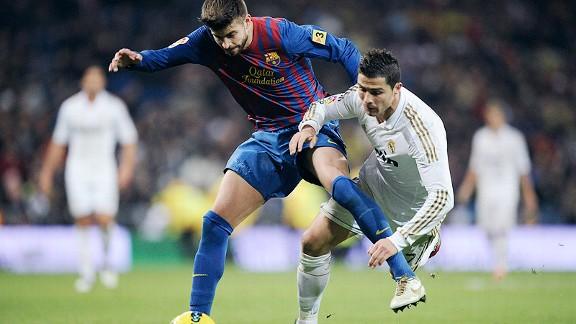 Pique, Cristiano Ronaldo