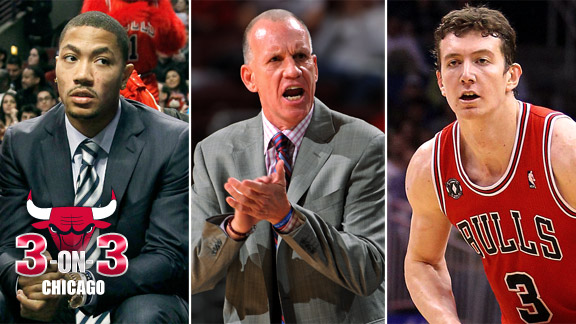 Derrick Rose, Doug Collins, Omer Asik