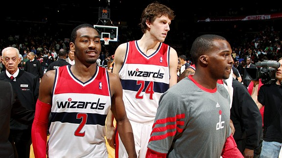 John Wall, Jan Vesely, Shelvin Mack