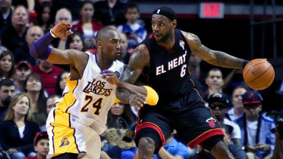 LeBron James/Kobe Bryant