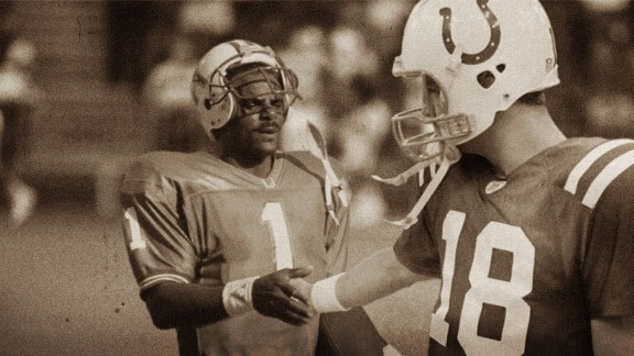 Warren Moon and Peyton Manning