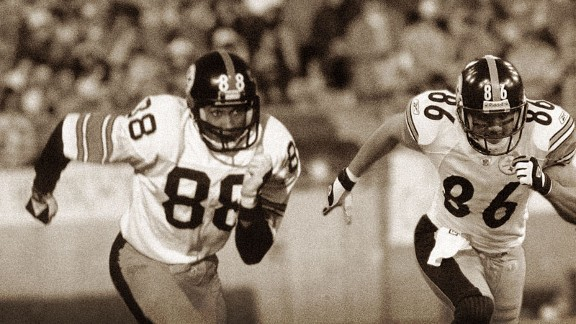 Lynn Swann and Hines Ward
