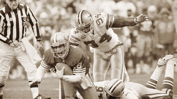 Even a QB as elusive as Hall of Famer Steve Young may have a hard time avoiding DeMarcus Ware.