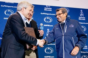 Tim Curley and Joe Paterno