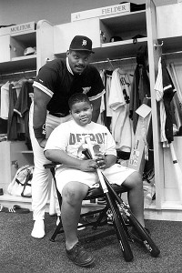 Cecil Fielder and Prince Fielder