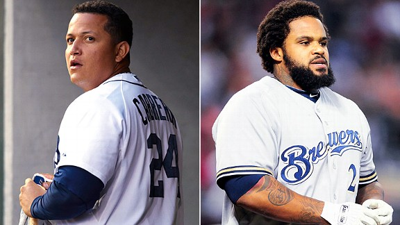 Miguel Cabrera and Prince Fielder