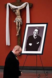 Joe Paterno's memorial