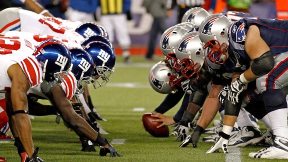 Patriots vs. Giants