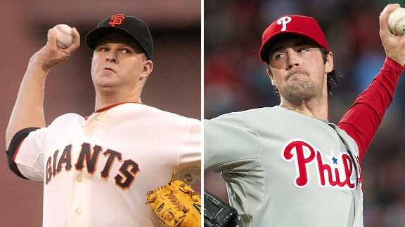 Matt Cain and Cole Hamels