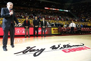 Maryland basketball court