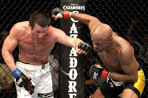 Chael Sonnen and Anderson Silva
